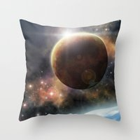 Welcome to the Space Throw Pillow