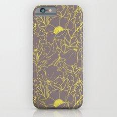 Simply June Yellow iPhone 6 Slim Case