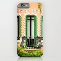iPhone & iPod Case featuring 3 green windows by Gato Gris Games