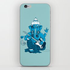 Ganesha rocks ! (v3) iPhone & iPod Skin