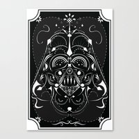 Darth Vader On Acid Canvas Print