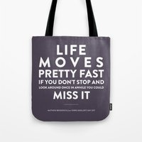 Life - Quotable Series Tote Bag