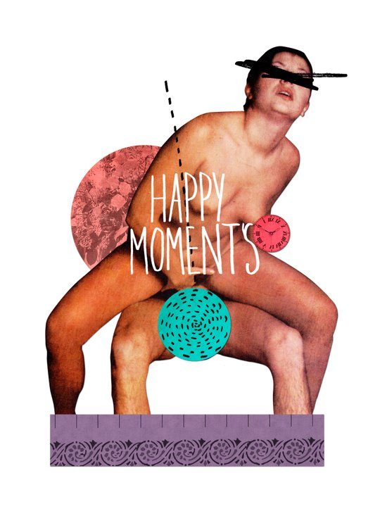 happy moments Art Print