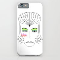 iPhone & iPod Case featuring Bowie by luxinlove