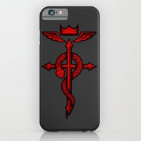 Fullmetal Alchemist Flamel iPhone 6 Slim Case