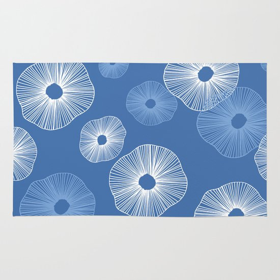 Sand dollars sea shells Area & Throw Rug
