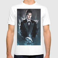 Gotham - The Penguin Mens Fitted Tee White SMALL