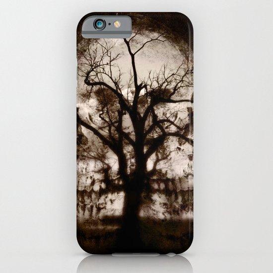 dark skull tree  iPhone & iPod Case