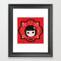 The Lunar New Year-Littl… Framed Art Print