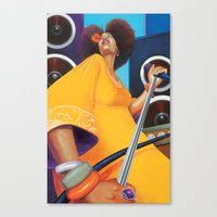 Solista Canvas Print