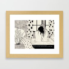The Tell Tale Heart Framed Art Print