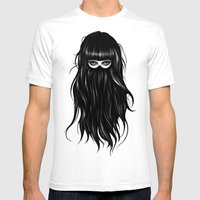 It Girl Mens Fitted Tee White SMALL