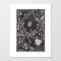Advent Canvas Print