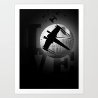 LOVE wars Art Print
