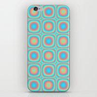 Squares iPhone & iPod Skin