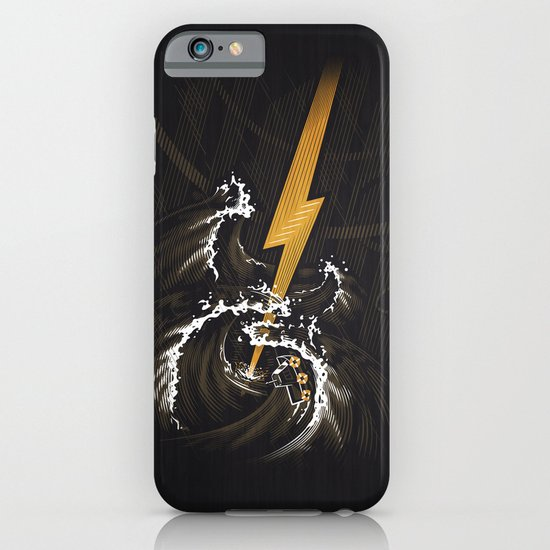 Electric Guitar Storm iPhone & iPod Case