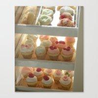 Cupcake Bakery  Canvas Print