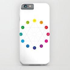 Simple Color Wheel iPhone 6s Slim Case
