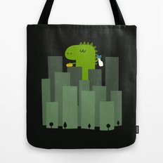 Clean monster Tote Bag