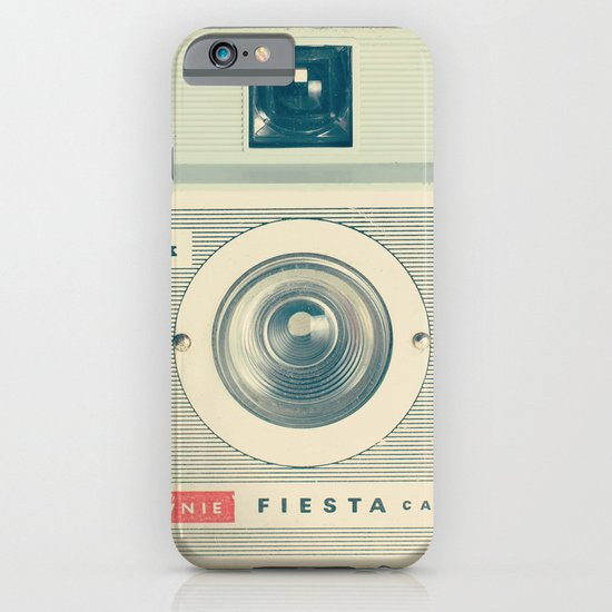 Fiesta - Beige Brownie Retro Vintage Camera iPhone & iPod Case