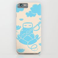 iPhone & iPod Case featuring Lotus&Guitar by sudarshana