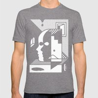 Stairs To The Attic Mens Fitted Tee Tri-Grey SMALL