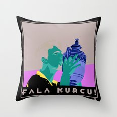 Goran Ivanisevic - Wimbledon trophy kiss Throw Pillow