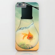 iPhone & iPod Case featuring GOLD FISH  by Mark Ashkenazi