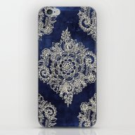 iPhone & iPod Skin featuring Cream Floral Moroccan Pa… by Micklyn