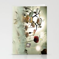 Delicious Light and Transparency  Stationery Cards