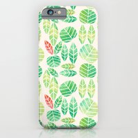 iPhone & iPod Case featuring minimalist spring by serenita