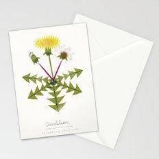Dandelion Modern Botanical Stationery Cards