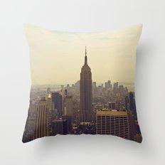 Elephant Parade Throw Pillow