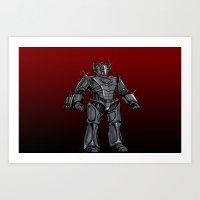 Cyberman... Art Print