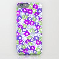 Morning Glory - Violet M… iPhone 6 Slim Case