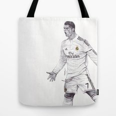 CR7 Drawing Tote Bag
