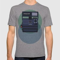 Paper Cups And Nervous H… Mens Fitted Tee Athletic Grey SMALL