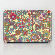 My butterflies and flowers. in yellow iPad Case