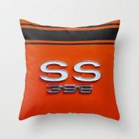 Chevy Super Sport 396 Throw Pillow