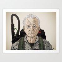 Dr. Venkman 2013 Art Print