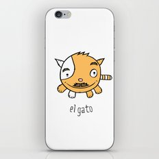 el gato iPhone & iPod Skin