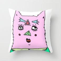 gato magico Throw Pillow