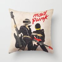 Mad Punk / A Tribute To … Throw Pillow