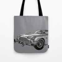 THE Bond Car. Tote Bag