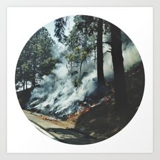 Nature on Fire Art Print