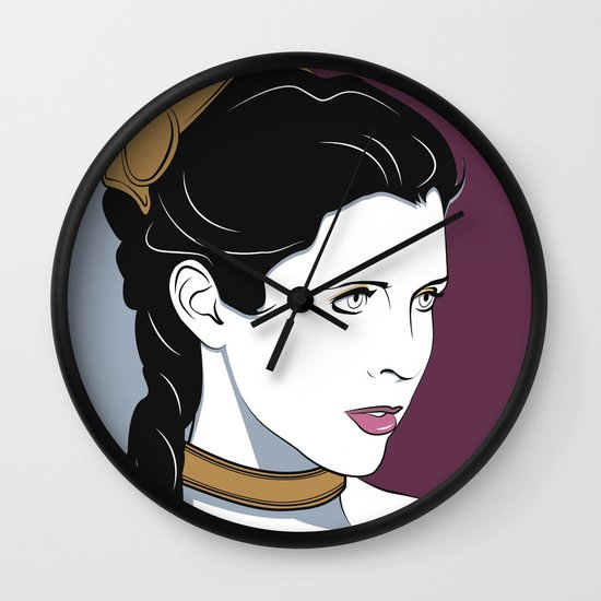 80s Princess Leia Slave Girl Wall Clock