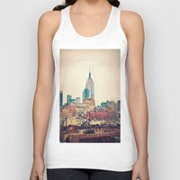 Unisex Tank Top featuring NYC Vintage style by Love2Snap