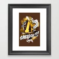You Ain't A Lambda? SHEE… Framed Art Print