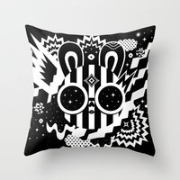 Neleus Throw Pillow