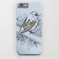 iPhone & iPod Case featuring Blue bird by Annie illustrations